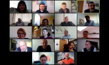 Întâlnire de management pentru proiectul INTRIDE organizată pe ZOOM